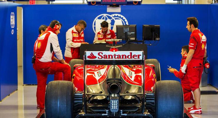 Ferrari  - Formel 1 - GP USA - 31. Oktober 2014