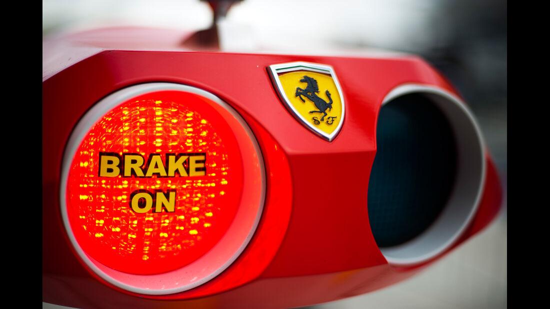 Ferrari - Formel 1 - GP USA - Austin - 15. November 2012