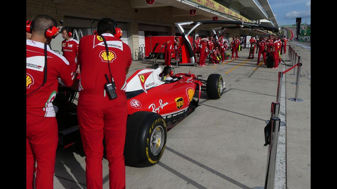 Ferrari - Formel 1 - GP USA - Austin - 19. Oktober 2016
