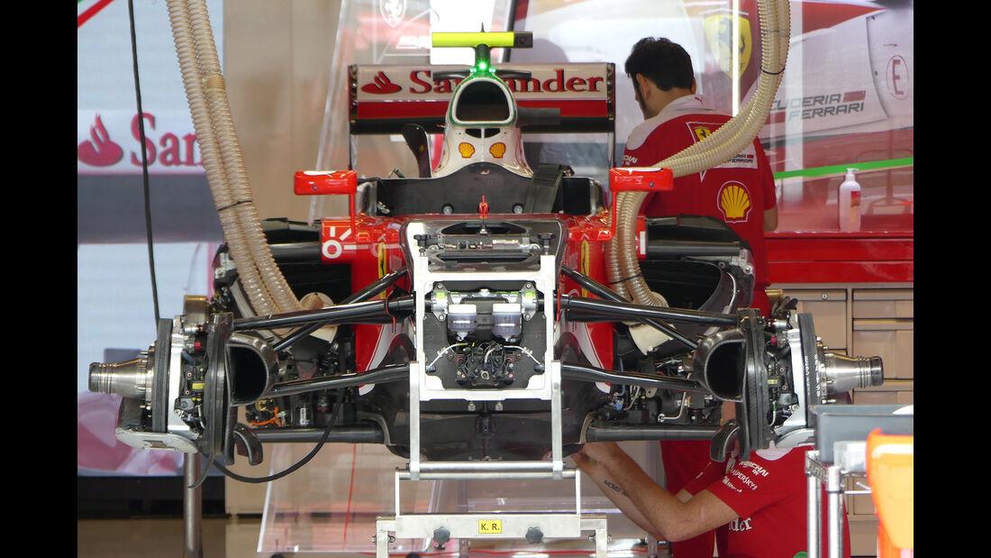 Ferrari - Formel 1 - GP USA - Austin - 20. Oktober 2016