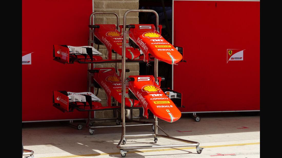 Ferrari - Formel 1 - GP USA - Austin - 21. Oktober 2015
