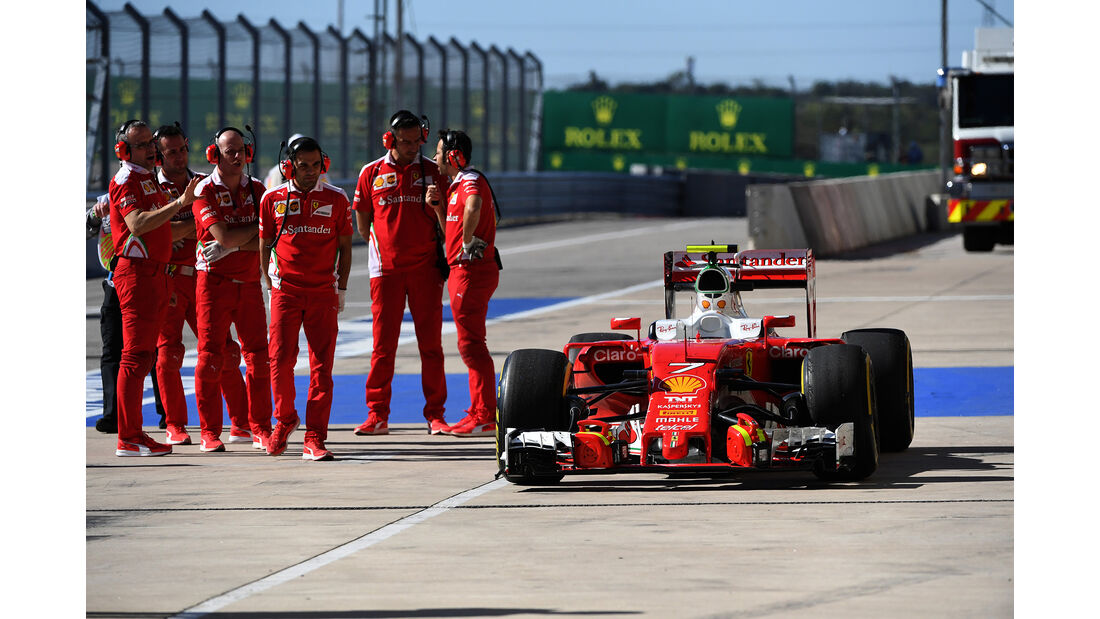Ferrari - Formel 1 - GP USA - Austin - 21. Oktober 2016