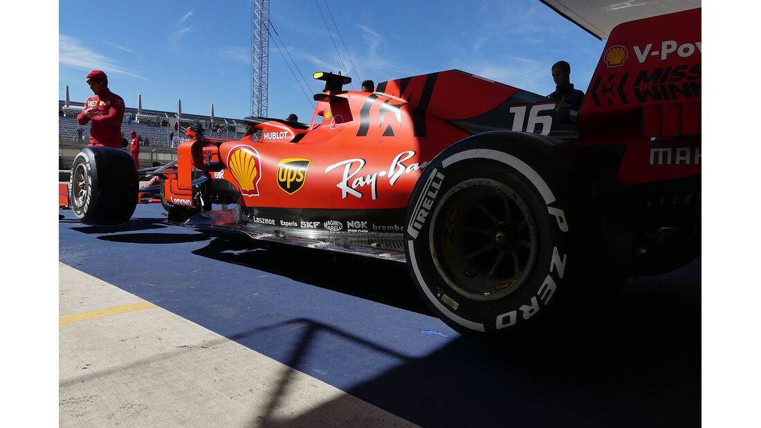 Ferrari - Formel 1 - GP USA - Austin - 31. Oktober 2019