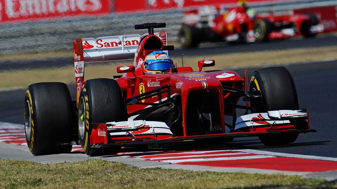 Ferrari - Formel 1 - GP Ungarn 2013