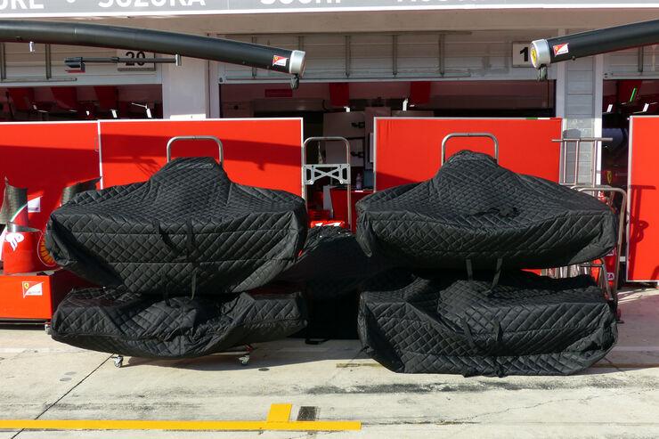 Ferrari - Formel 1 - GP Ungarn - 23. Juli 2014