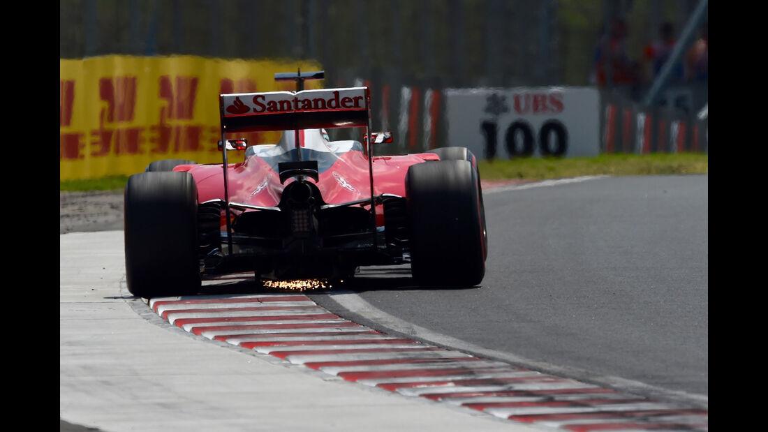 Ferrari - Formel 1 - GP Ungarn - 23. Juli 2016
