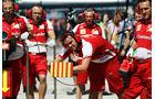 Ferrari - Formel 1 - GP Ungarn - 26. Juli 2013