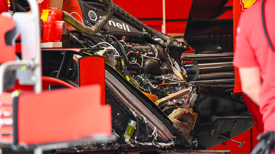 Ferrari - Formel 1 - GP Ungarn - Budapest - 16. Juli 2020