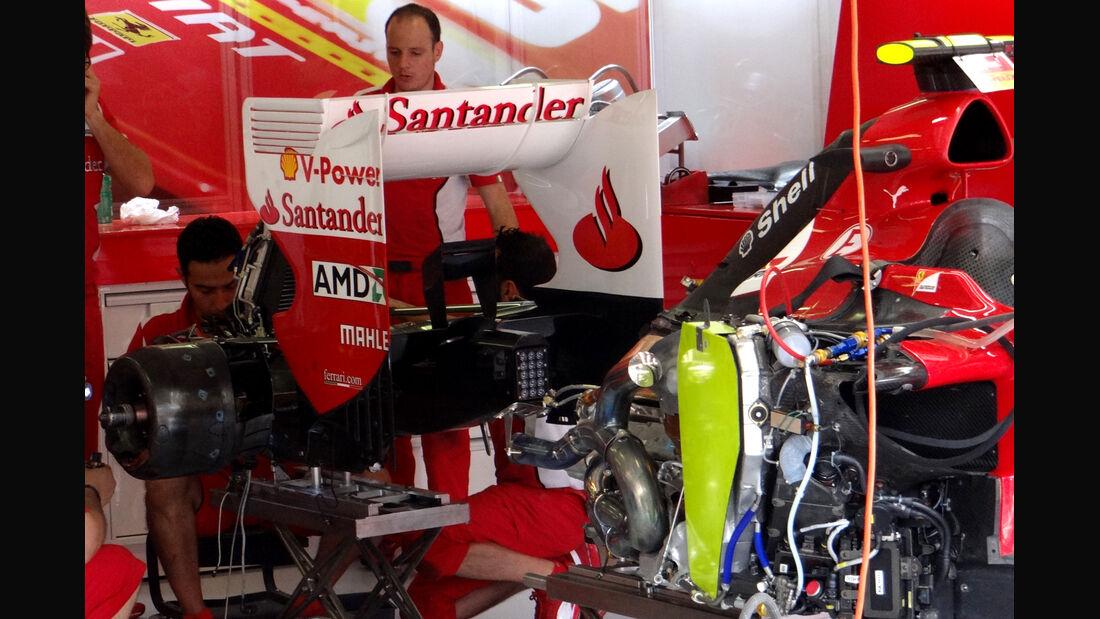 Ferrari - Formel 1 - GP Ungarn - Budapest - 27. Juli 2012