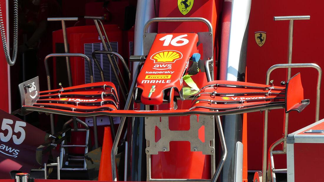 Ferrari - Formel 1 - GP Ungarn - Budapest - Donnerstag - 29. Juli 2021