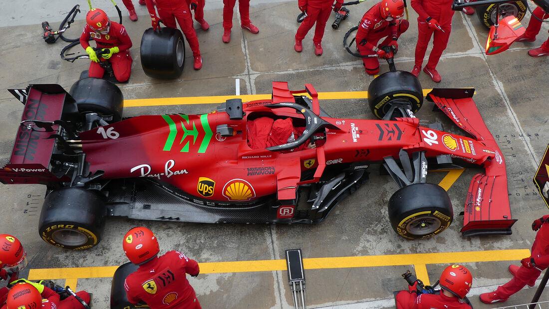 Ferrari - Formel 1 - Imola - GP Emilia-Romagna - 15. April 2021