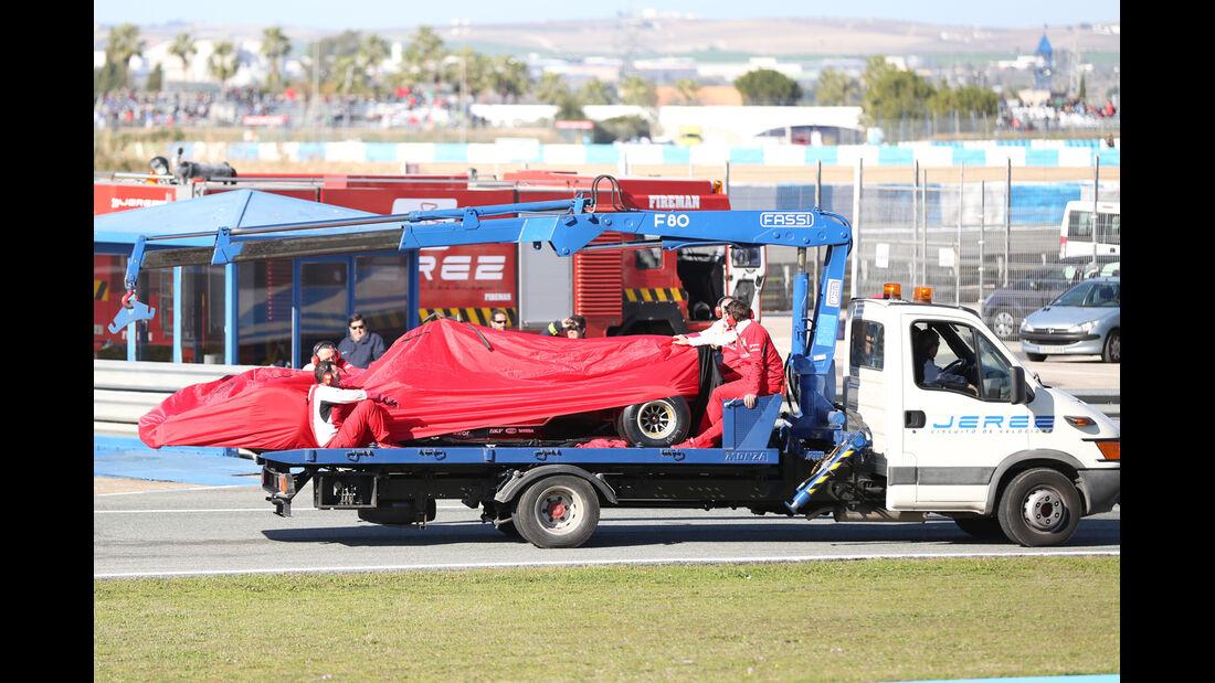 Ferrari - Formel 1 - Jerez - Test - 30. Januar