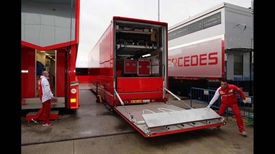 Ferrari - Formel 1 - Jerez - Test - 30. Januar 2014