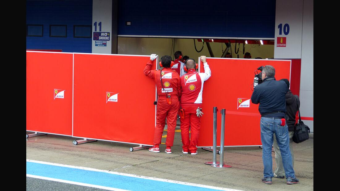 Ferrari - Formel 1 - Jerez - Test - 31. Januar 2014
