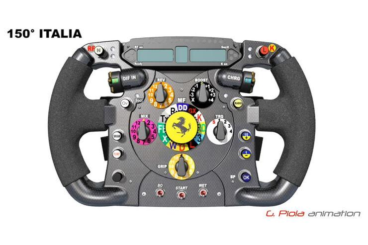 Ferrari Formel 1-Lenkrad