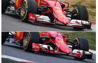 Ferrari - Formel 1-Technik - Barcelona-Test 2 - F1 2015