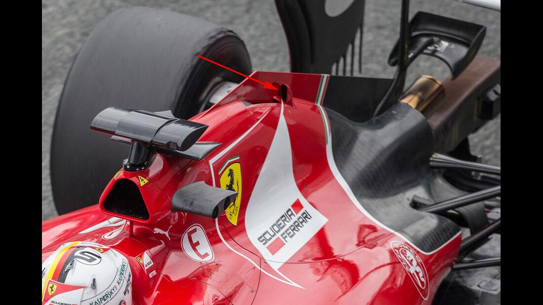 Ferrari - Formel 1-Technik - F1-Test - Jerez - 2015
