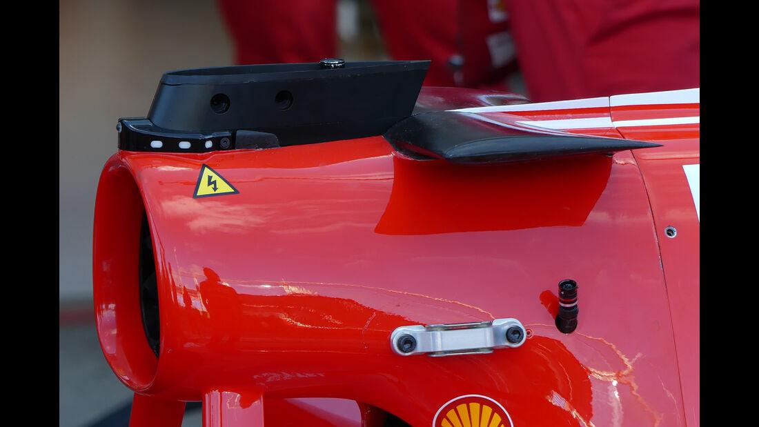 Ferrari - Formel 1 - Technik - GP Australien 2017