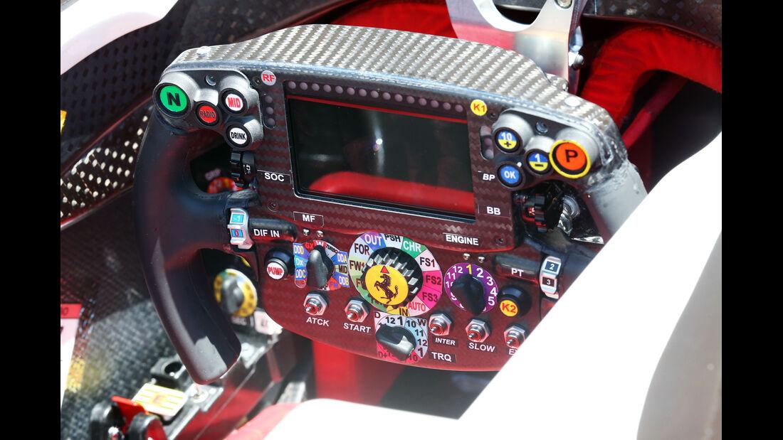 Ferrari - Formel 1 - Technik - GP Bahrain 2016