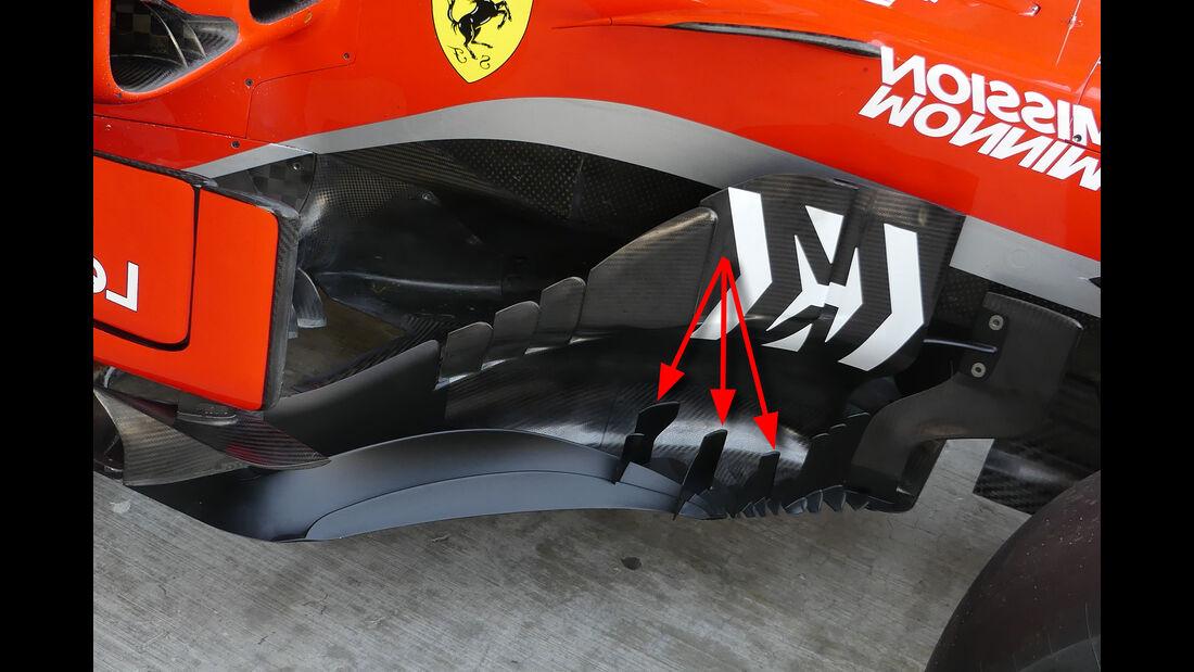 Ferrari - Formel 1 - Technik - GP Mexiko 2018