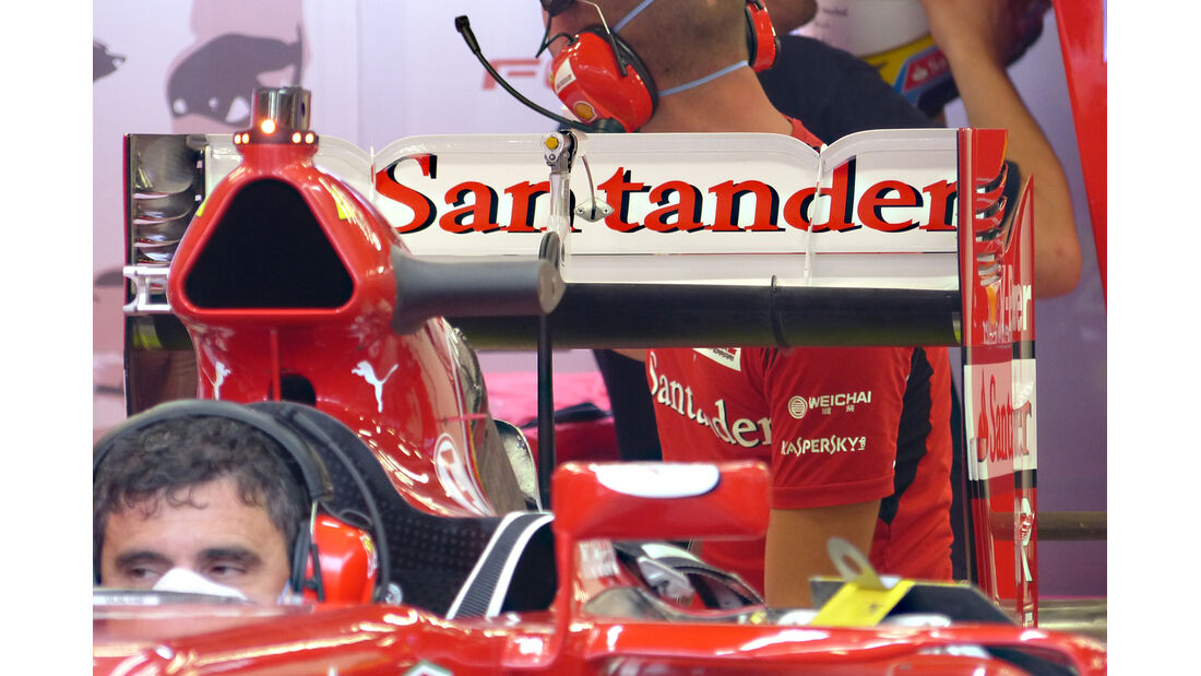 Ferrari - Formel 1 - Technik - GP Singapur 2014