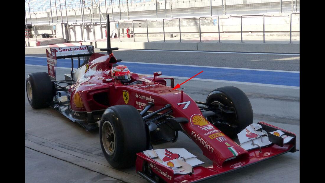 Ferrari - Formel 1 Test - Bahrain - 2014