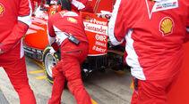 Ferrari - Formel 1-Test - Barcelona - 1. März 2015