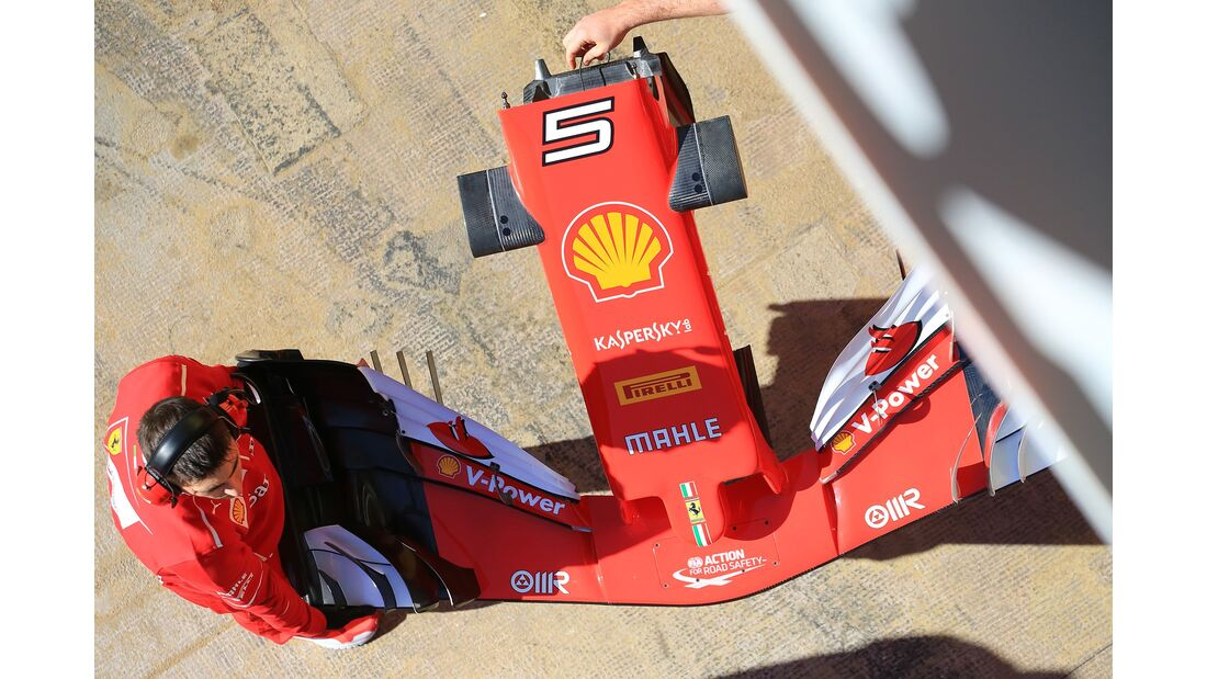 Ferrari - Formel 1 - Test - Barcelona - 1. März 2017