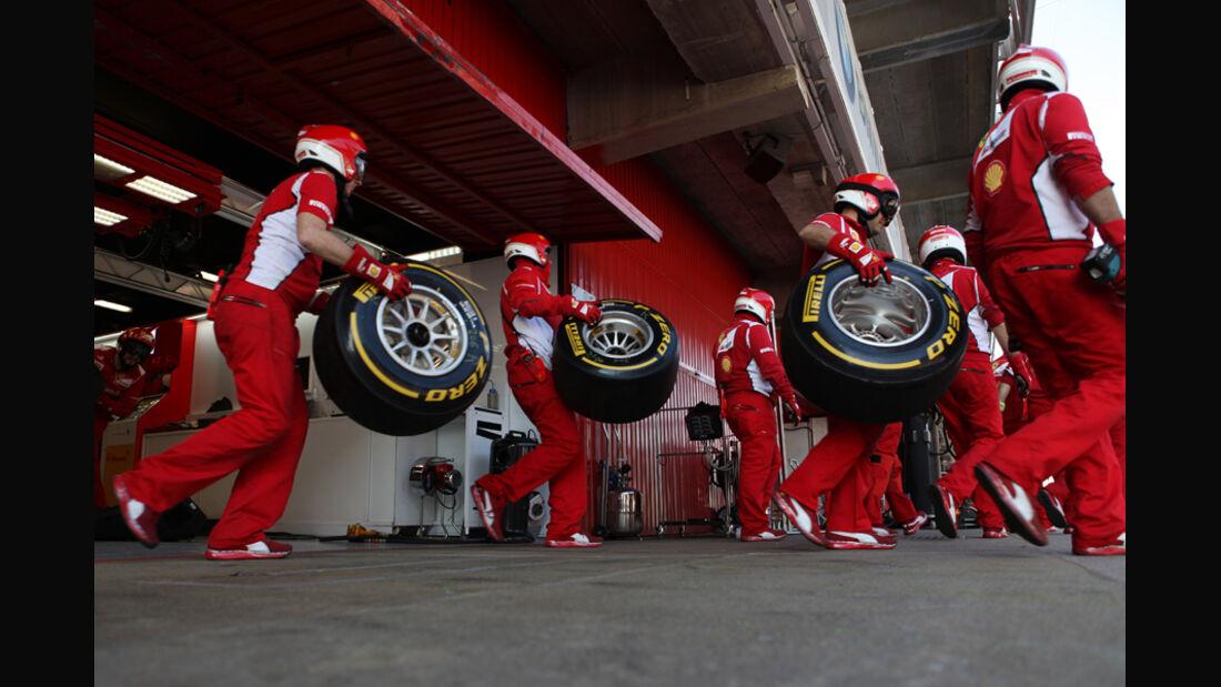 Ferrari - Formel 1-Test - Barcelona - 2012