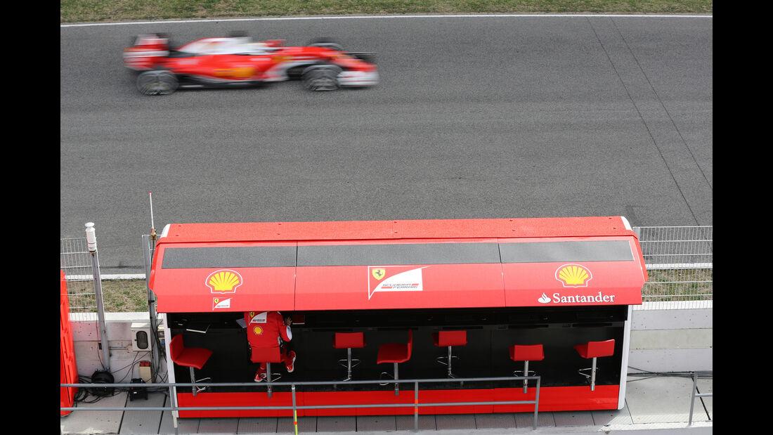 Ferrari - Formel 1-Test - Barcelona - 22. Februar 2016