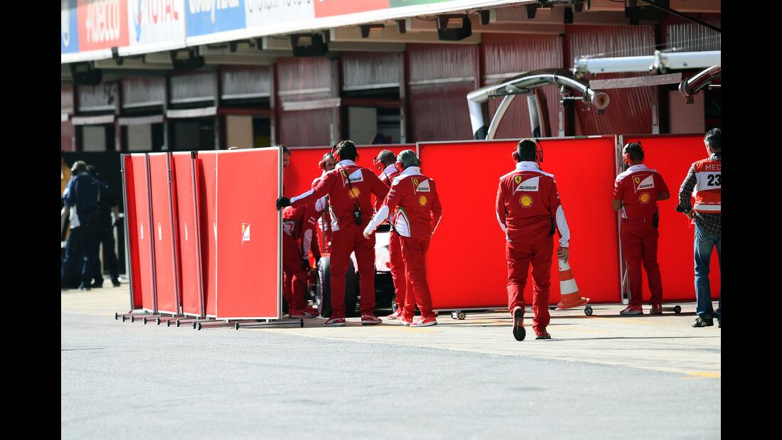 Ferrari - Formel 1-Test - Barcelona - 23. Februar 2016