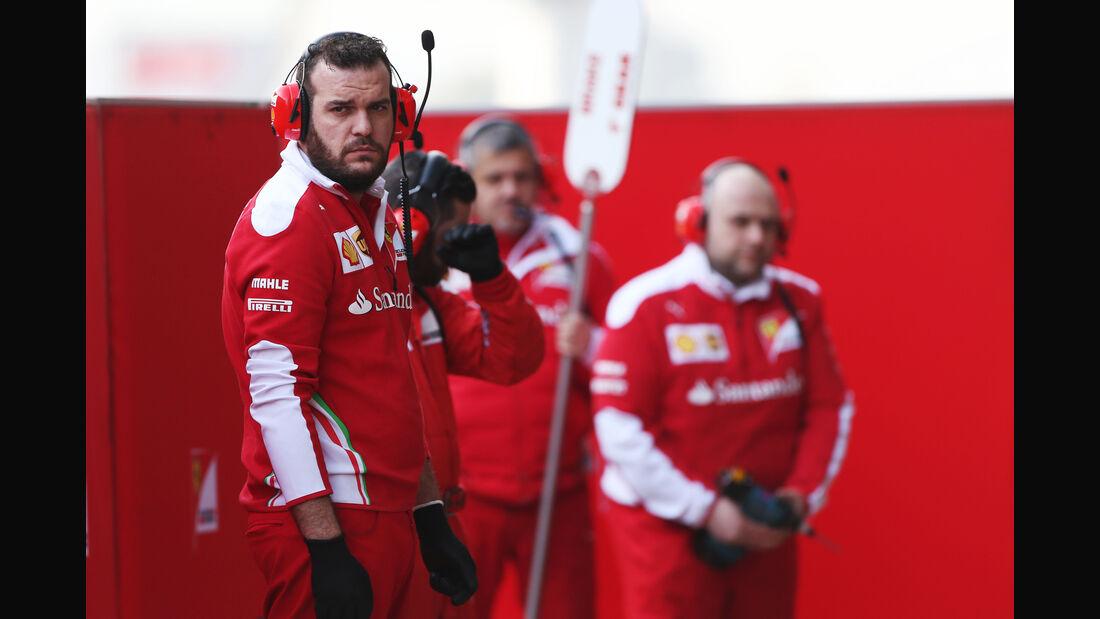 Ferrari - Formel 1-Test - Barcelona - 25. Februar 2016