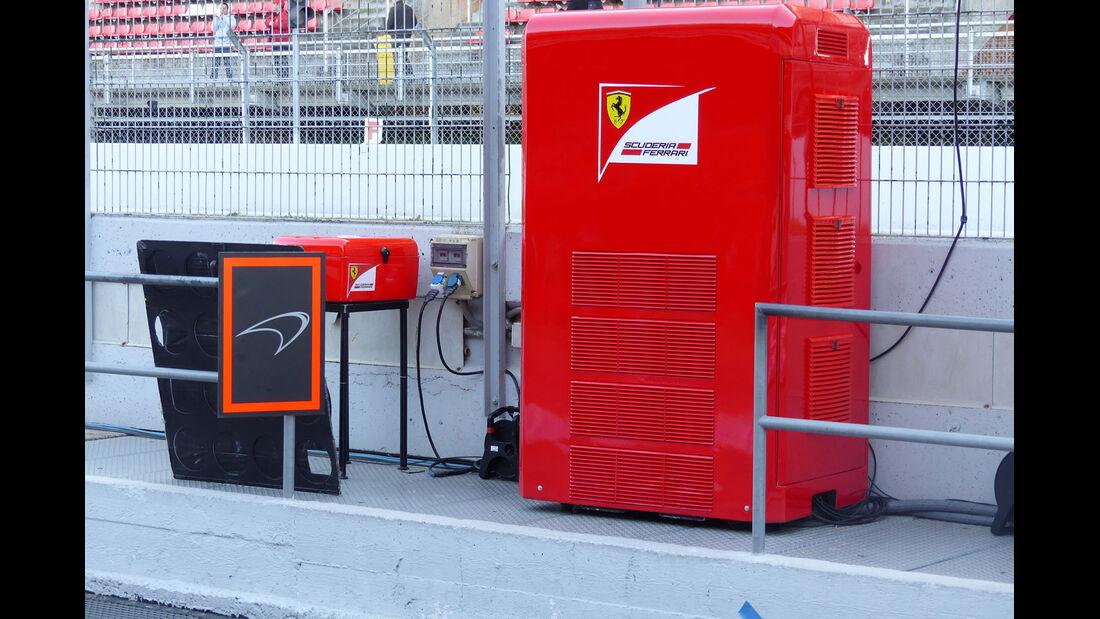 Ferrari - Formel 1-Test - Barcelona - 28. Februar 2015