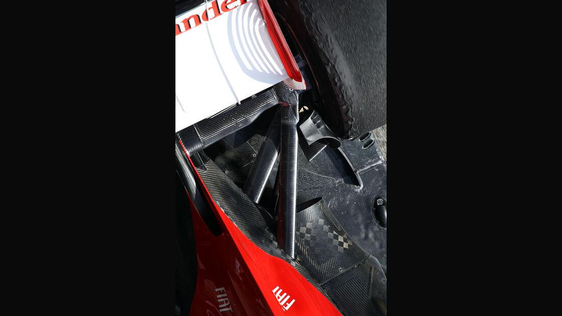 Ferrari - Formel 1 - Test - Barcelona - 3. März 2013
