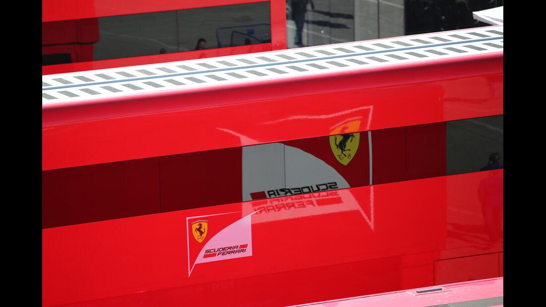 Ferrari - Formel 1-Test Jerez - 1. Febraur 2015