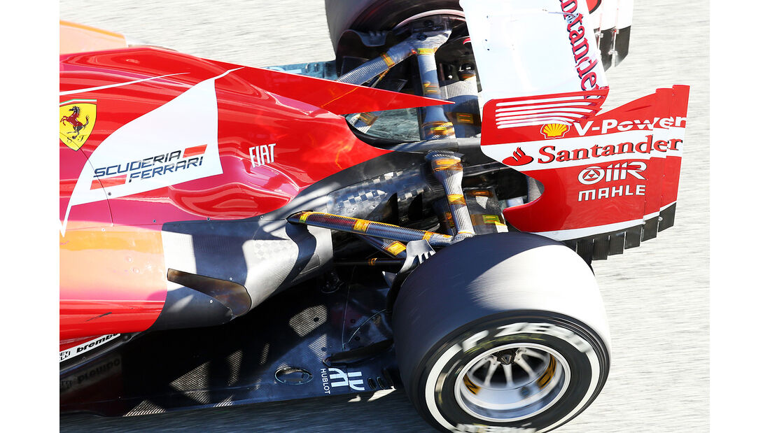 Ferrari, Formel 1-Test, Jerez, 7.2.2013