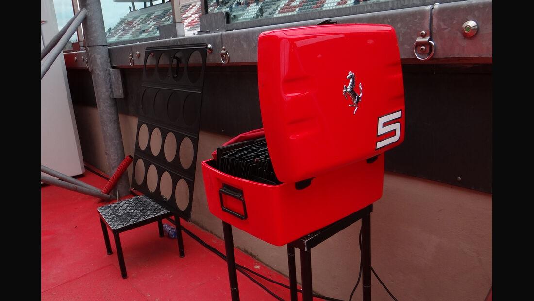 Ferrari - Formel 1-Test - Mugello - 3. Mai 2012