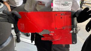 Ferrari - Frontflügel - Endplatte - GP Emilia-Romagna 2020 - Imola