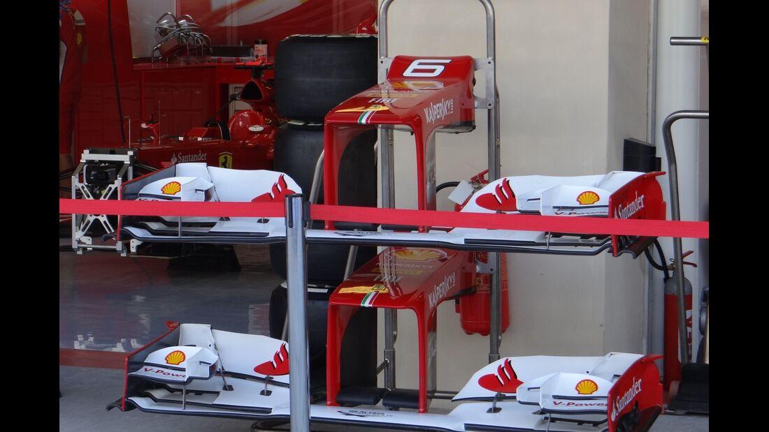 Ferrari Frontflügel - Formel 1 - GP Abu Dhabi - 01. November 2012