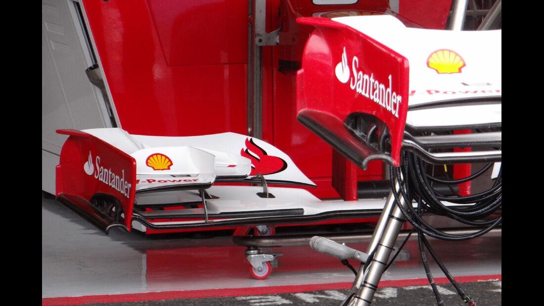 Ferrari Frontflügel - Formel 1 - GP Deutschland - 19. Juli 2012