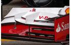 Ferrari Frontflügel - Formel 1 - GP England - 27. Juni 2013