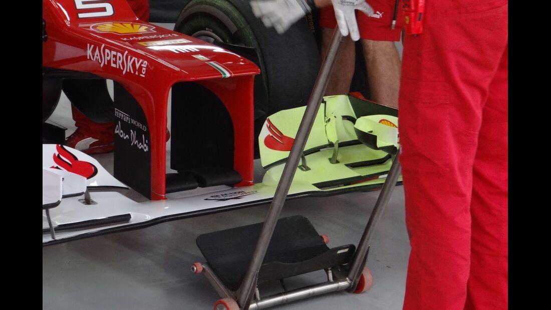 Ferrari Frontflügel - Formel 1 - GP Indien - 26. Oktober 2012