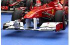 Ferrari Frontflügel  - Formel 1 - GP Korea - 15. Oktober 2011