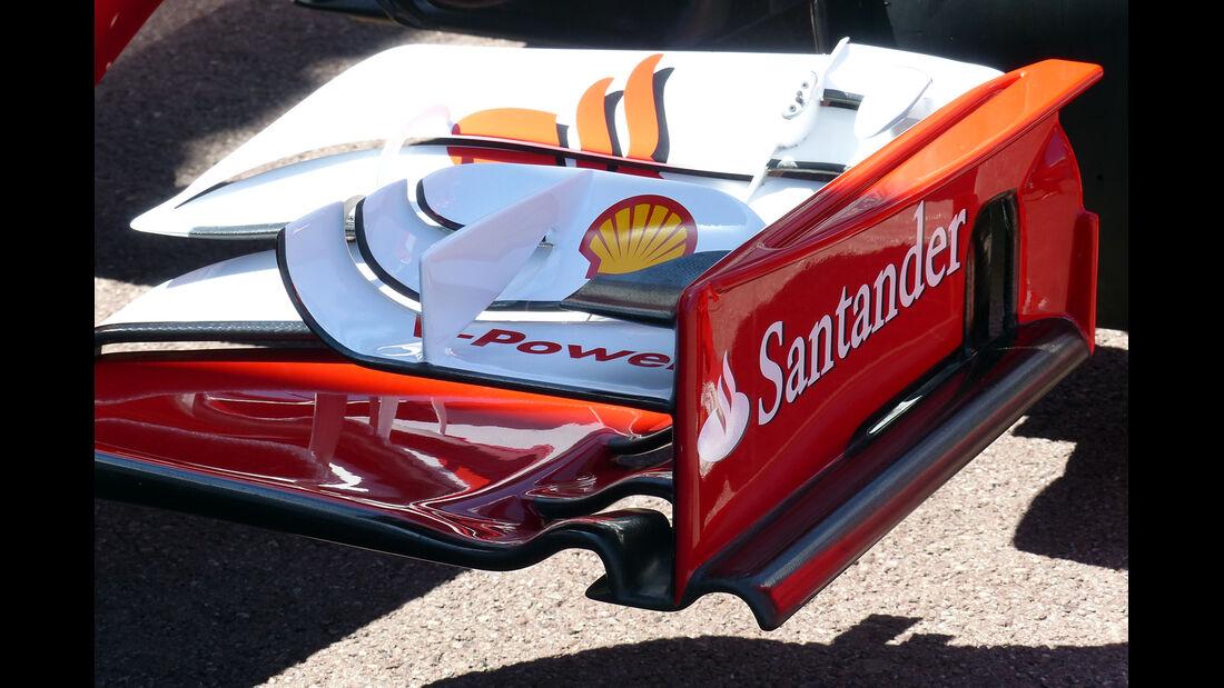 Ferrari Frontflügel - Formel 1 - GP Monaco - 23. Mai 2014