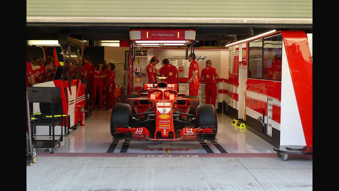 Ferrari - GP Abu Dhabi - Formel 1 - 22. November 2018