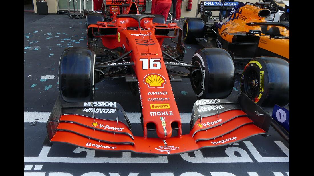 Ferrari - GP Abu Dhabi - Formel 1 - Donnerstag - 28.11.2019