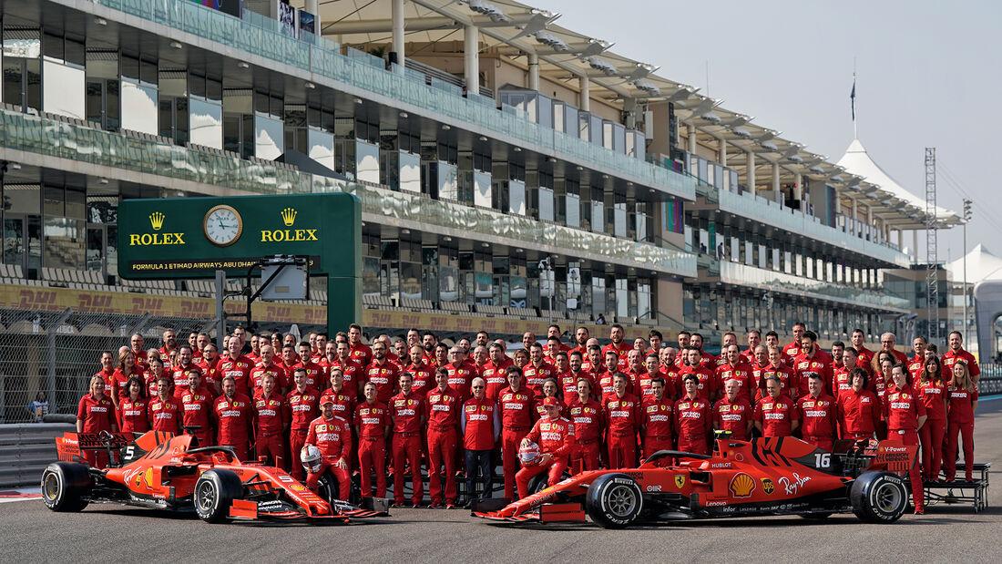Ferrari - GP Abu Dhabi - Formel 1 - Samtag - 30.11.2019