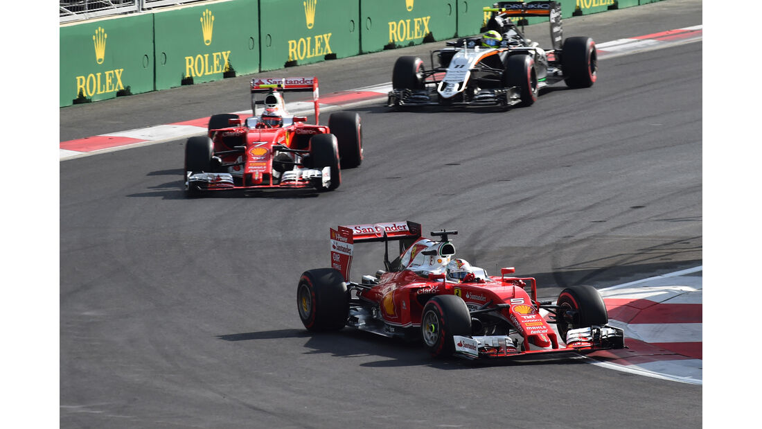 Ferrari - GP Aserbaidschan 2016