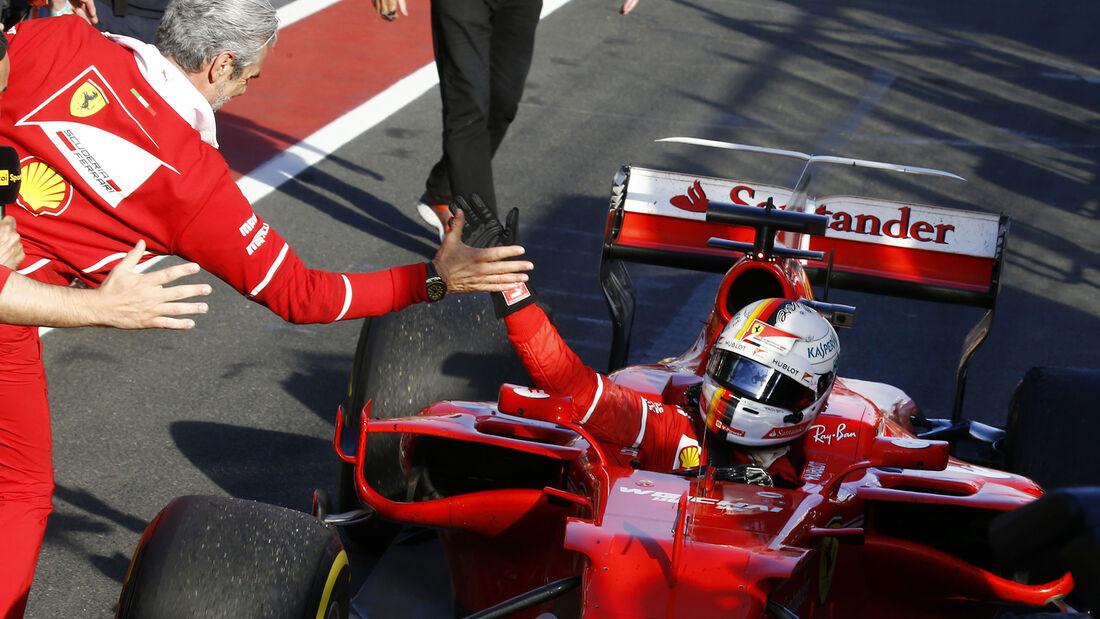Ferrari - GP Australien 2017