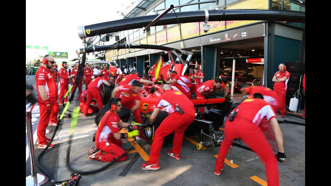 Ferrari - GP Australien 2018 - Melbourne - Albert Park - Freitag - 23.3.2018
